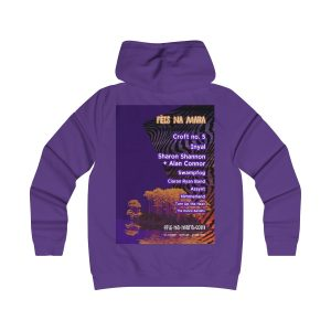 Female Hoodie (design both sides)