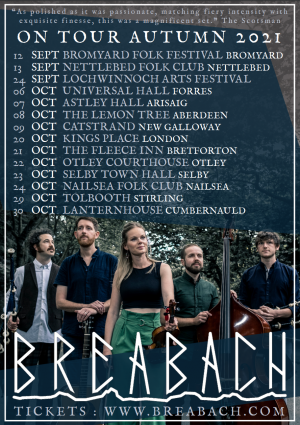 Breabach Tickets – 7th October