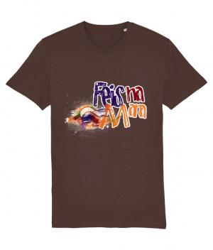 Vintage Look T-shirt (design one side) logo