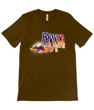 Canvas Unisex Crew Neck T-Shirt (design one side) logo
